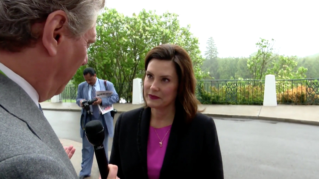 Gretchen Whitmer talks about her plan to 'fix the damn roads' in Michigan