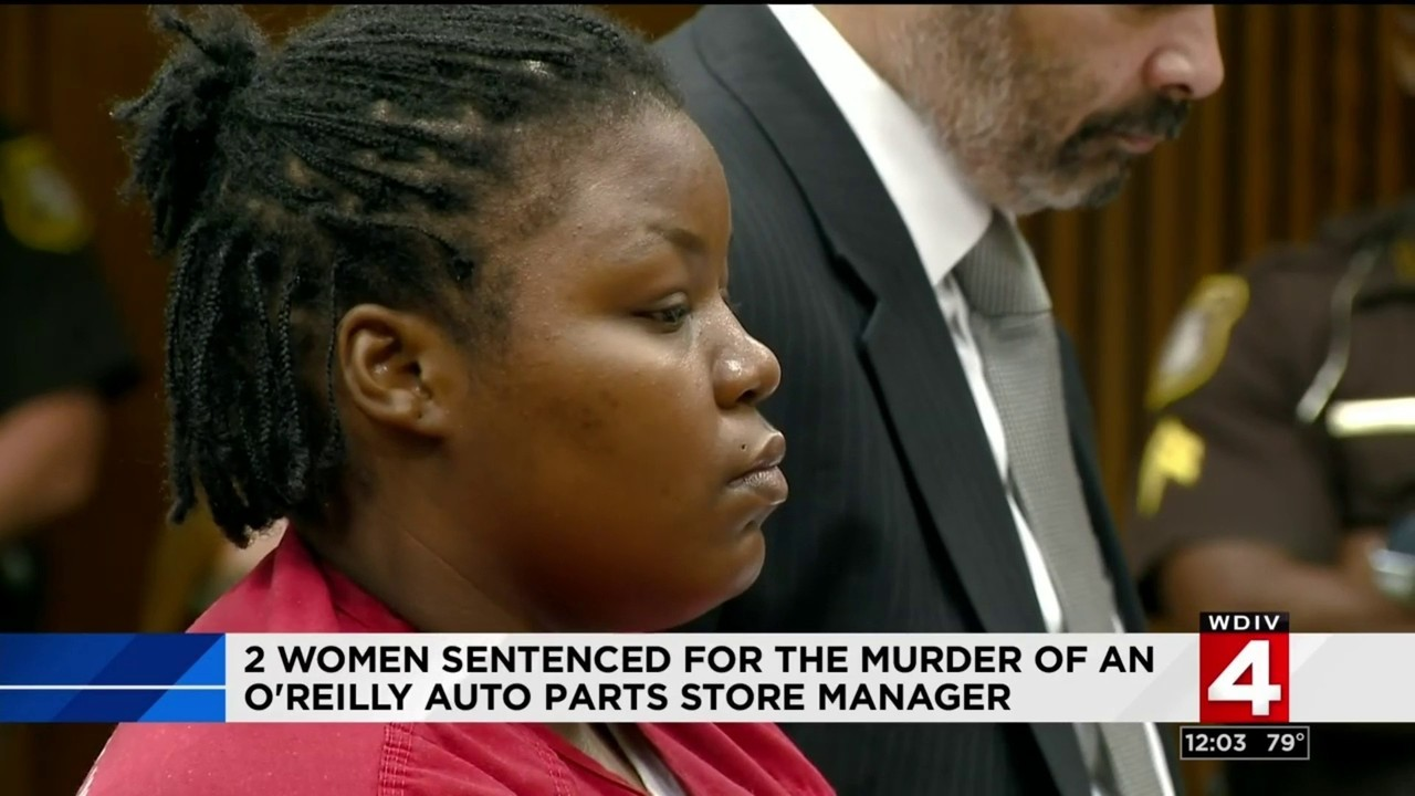 2 women sentenced for murder of O'Reilly Auto Parts store