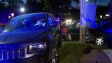 Child hurt after 3-car crash in Detroit