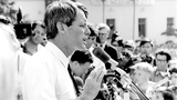 Watch footage on Bobby Kennedy campaigning in Detroit just before his death