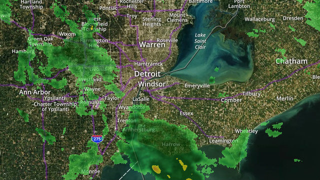 Michigan Weather Radar | ClickOnDetroit | WDIV Local 4