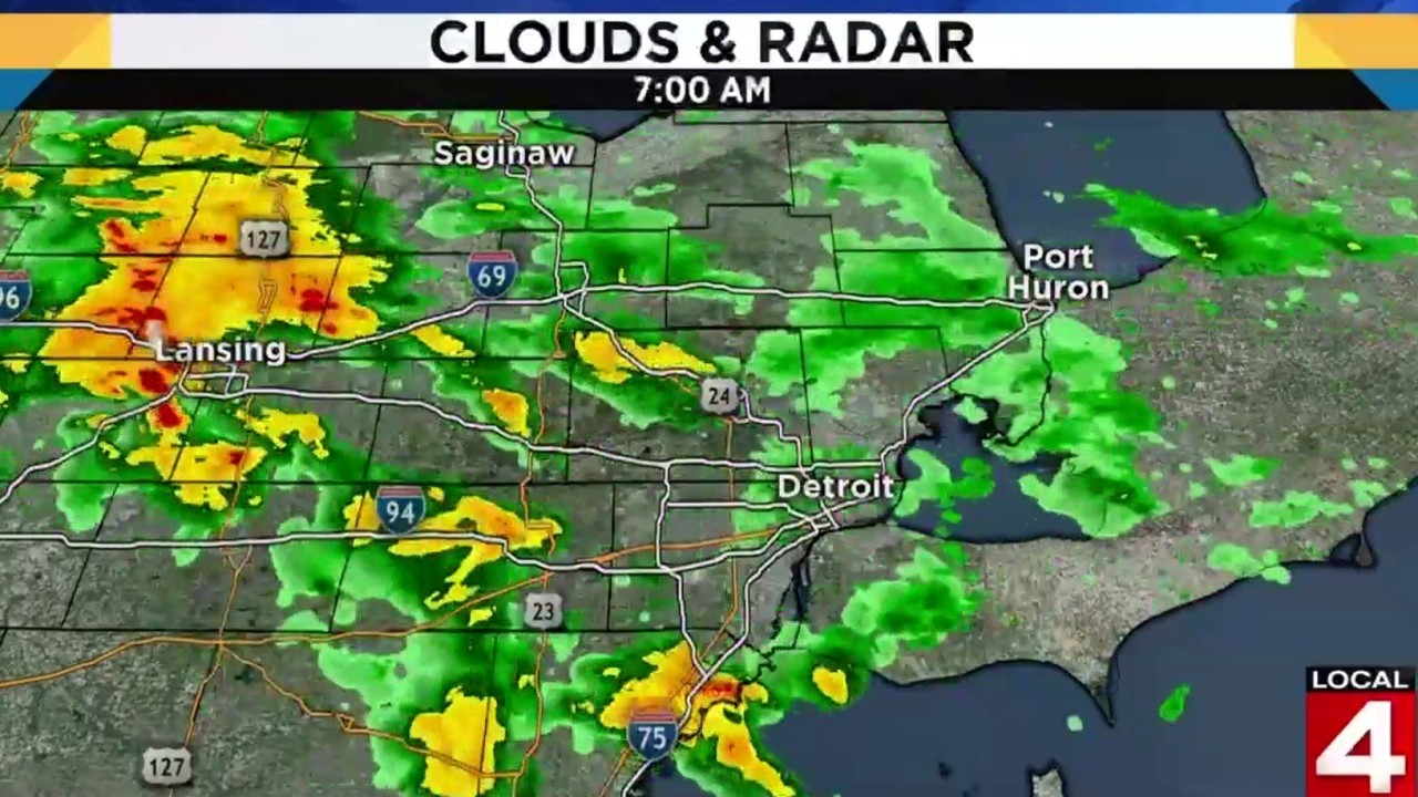 Metro Detroit Weather Forecast Mild Saturday Night Scattered