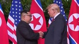Monumental meeting held between President Trump, North Korea's Kim Jon Un