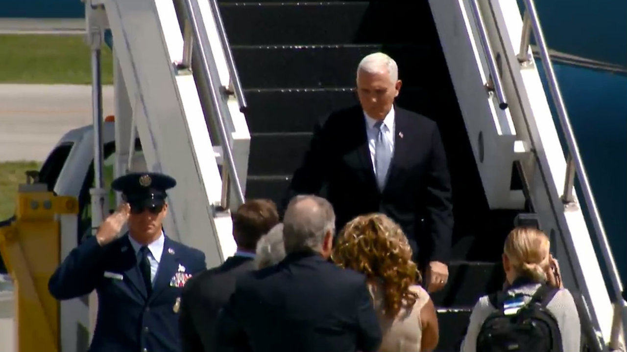 """Hasil gambar untuk Vice President Mike Pence will travel to Rochester, Michigan, before delivering remarks at a """"Tax Cuts to Put America First"""" event in Columbus, Ohio"""