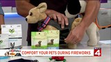 How to comfort your pets during fireworks