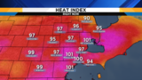 Metro Detroit weather: Relief from the heat on the way