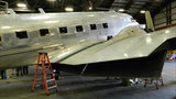 Historic World War II-era Douglas C-47 plane gets makeover in Michigan