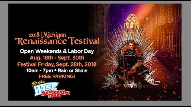 Michigan Renaissance Festival Ticket Giveaway Rules