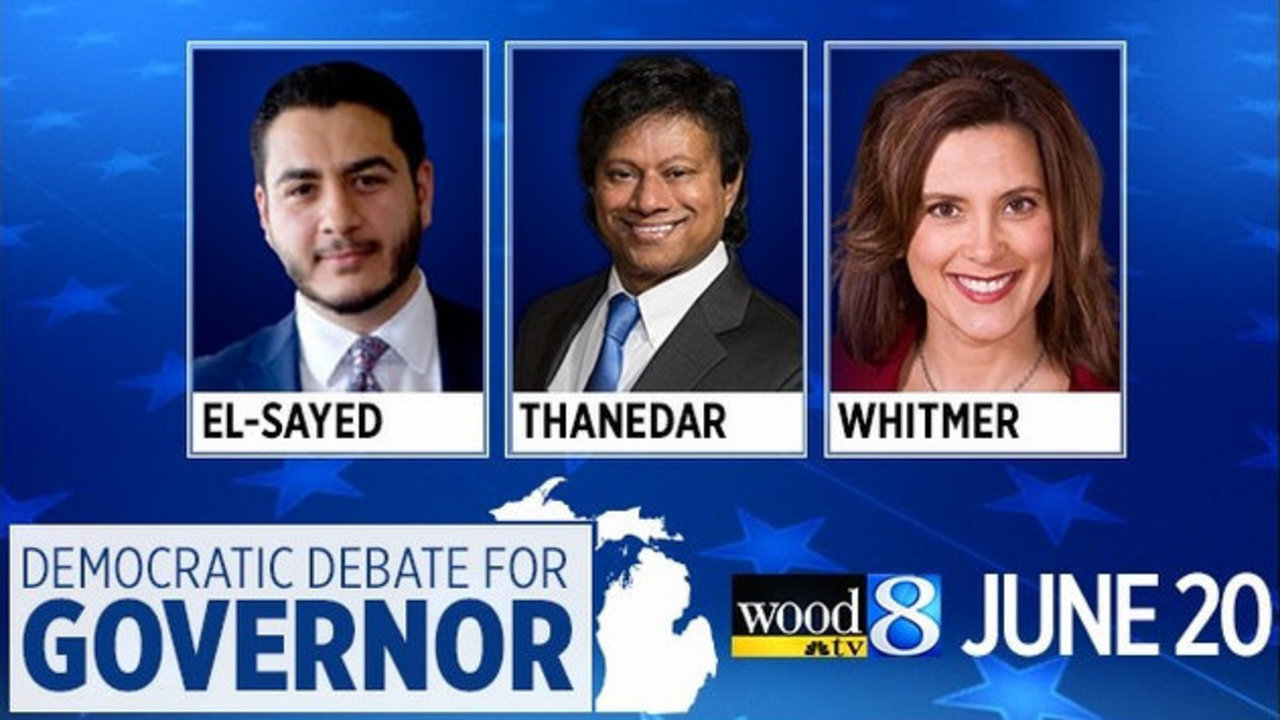 438be6d0db7 WATCH: Michigan Democratic Debate for Governor