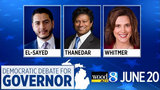 LIVE STREAM: Michigan Democratic Debate for Governor