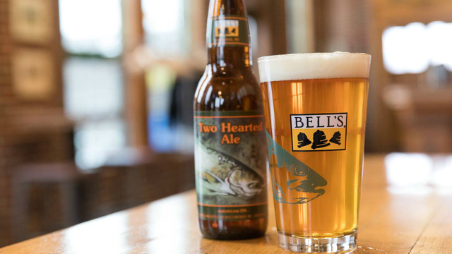 Bell's Brewery's Two Hearted Ale named best beer in US for 3rd year in row