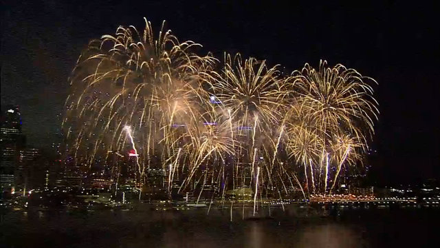WATCH: Full 2018 Ford Fireworks on Detroit River