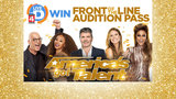 America's Got Talent Front of the Line Pass Contest Rules