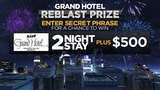 Fireworks Grand Hotel Reblast Contest -- Enter here!