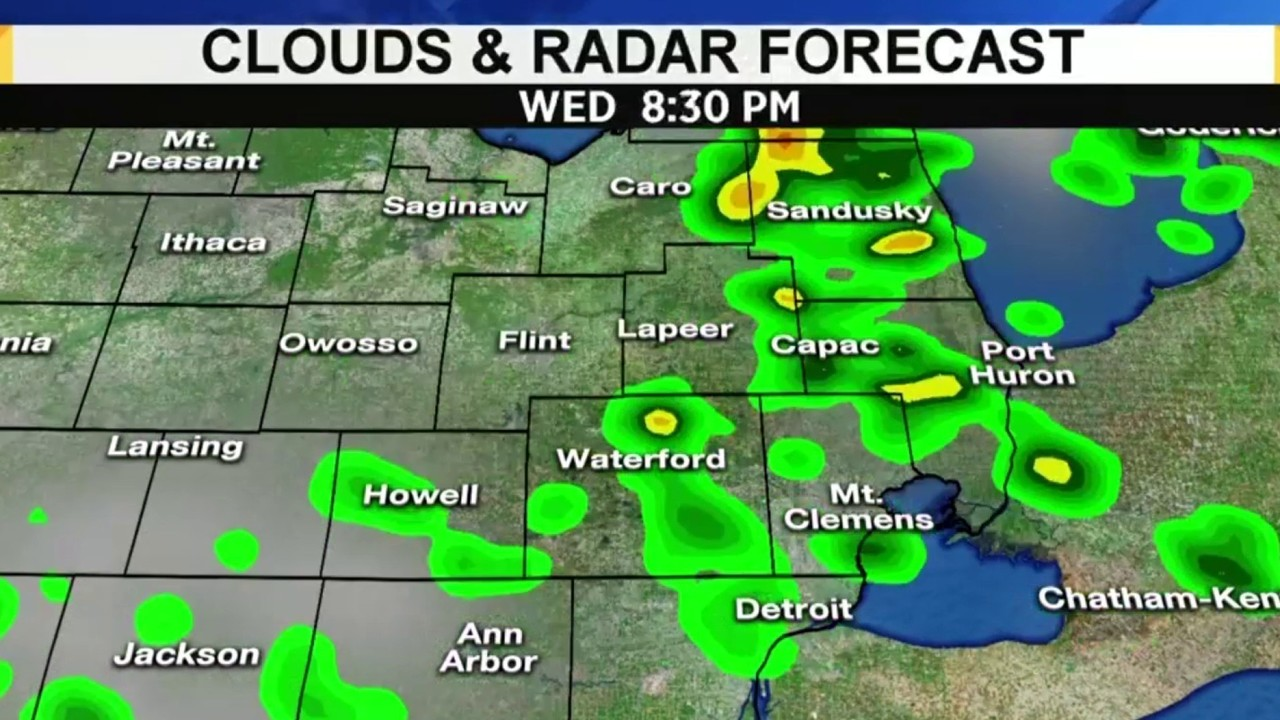 Metro Detroit weather forecast: Here's when rain,... on