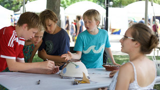 A kids' guide to the Ann Arbor Art Fair: Family-friendly, all ages activities