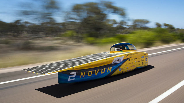 Top-ranked University of Michigan Solar Car Team hopes for bright result…
