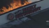 Flames rip through Madison Heights restaurant