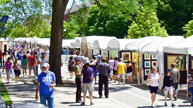 Getting around Ann Arbor Art Fair is now easier than ever