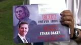 Troy election flyer showing Republican competitor with Hillary Clinton&hellip&#x3b;