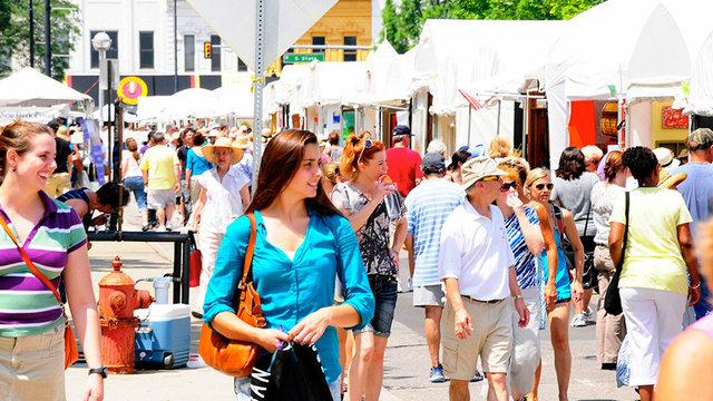Ann Arbor Art Fair: Four fairs, four artistic flavors