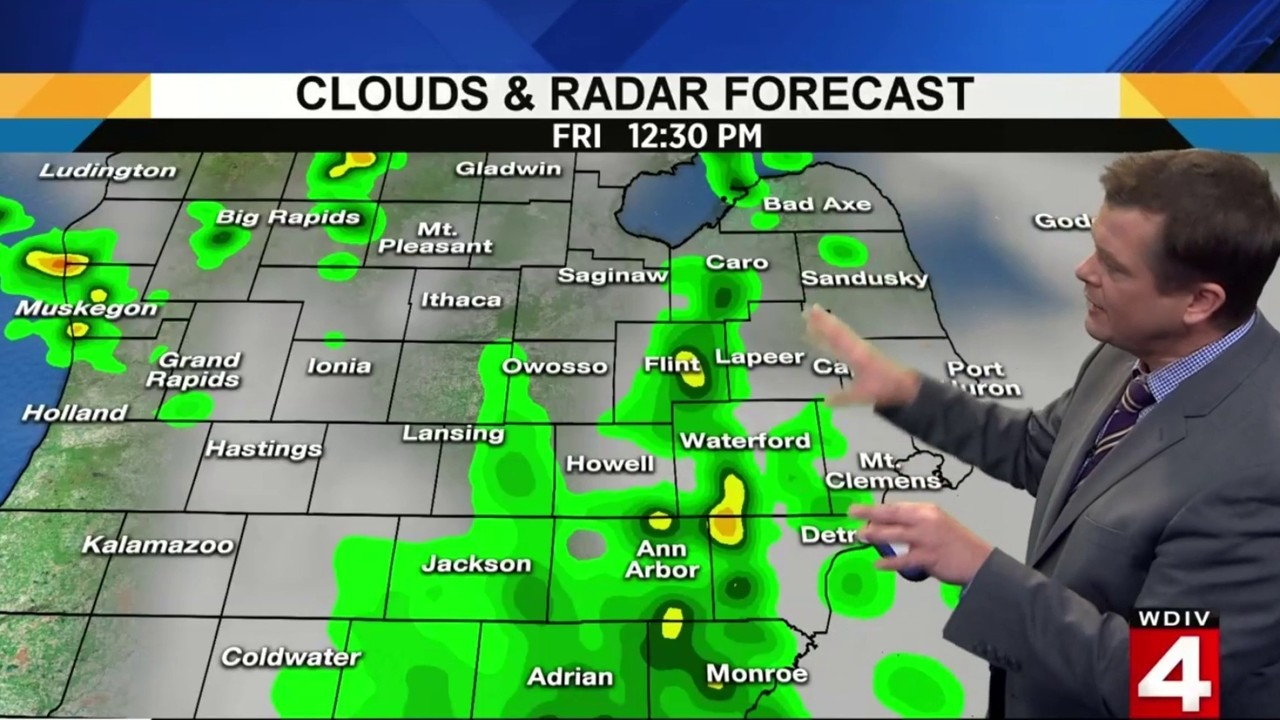 SE Michigan weather forecast: Chance for strong to severe