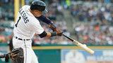 Iglesias drives in 4 as Fiers, Tigers blank Red Sox 5-0