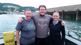 Siblings swim English Channel to raise money for Detroit Swims