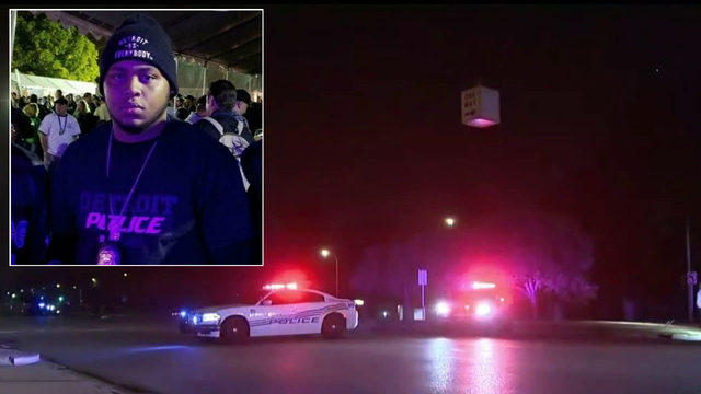 Detroit police chief on off-duty officer killed in crash: 'He loved his job'