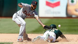 A's beat Tigers 6-0 in sixth straight win