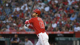 Ohtani, Upton hit Halos past Tigers 11-5 on Trout's birthday