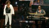 Stevie Wonder visits gravely ill Aretha Franklin in Detroit
