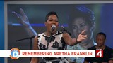 Beth gives a tribute performance to the 'Queen of Soul'