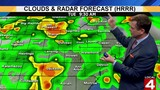 Metro Detroit weather: Rain, thundershowers moving through