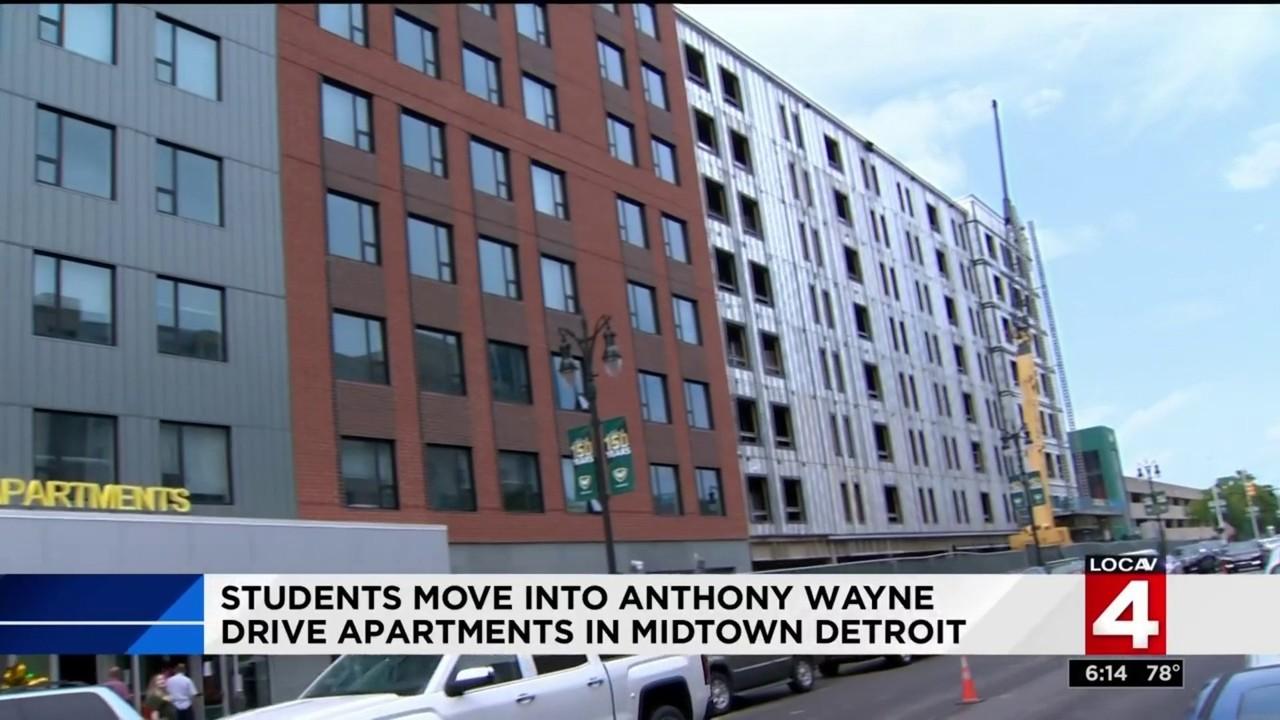 Wayne State University Opens 111 Million Student Apartment
