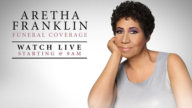 Aretha Franklin funeral: Follow full coverage here