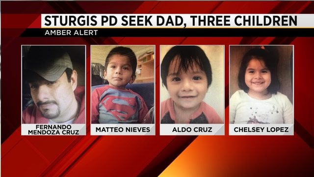 Michigan Amber Alert canceled for 3 children missing from Sturgis