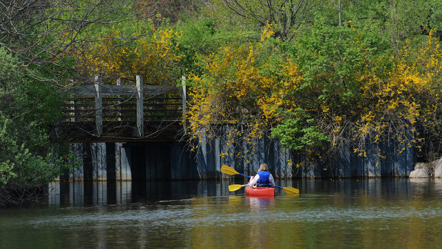 It's the last weekend of the season to canoe, kayak in Ann Arbor