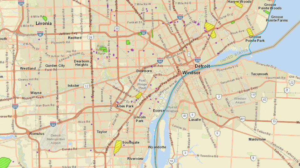 Dte Energy Power Outage Map Thousands Of Metro Detroiters Without