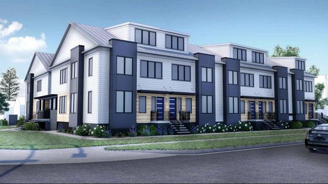 First look: Townhome development proposed near Michigan Stadium