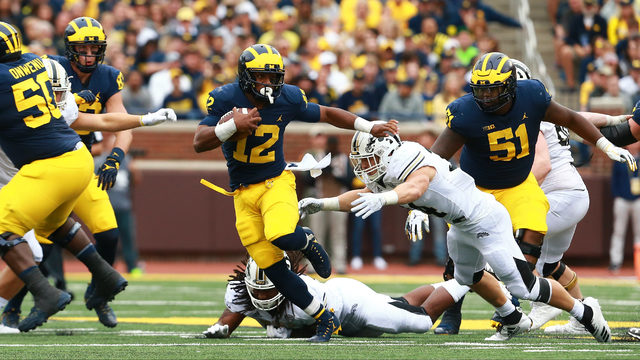RB Chris Evans not on Michigan football team 'at this time,' working&hellip&#x3b;