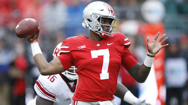 NFL Mock Draft predicts Lions trade up, take Ohio State QB Dwayne Haskins