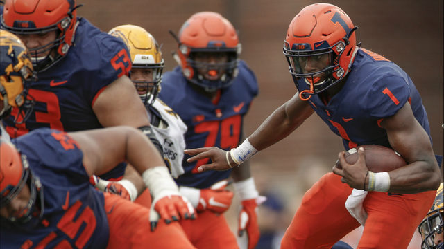 Illinois football vs. Akron: Time, TV schedule, game preview, score