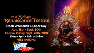 It's a Local 4 Free Friday! Michigan Renaissance Festival Rules