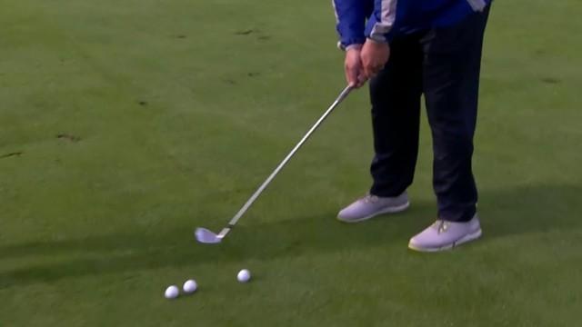 Golf tip: Walking through your shot