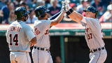 Indians rest several regulars after clinch, Tigers win 6-4