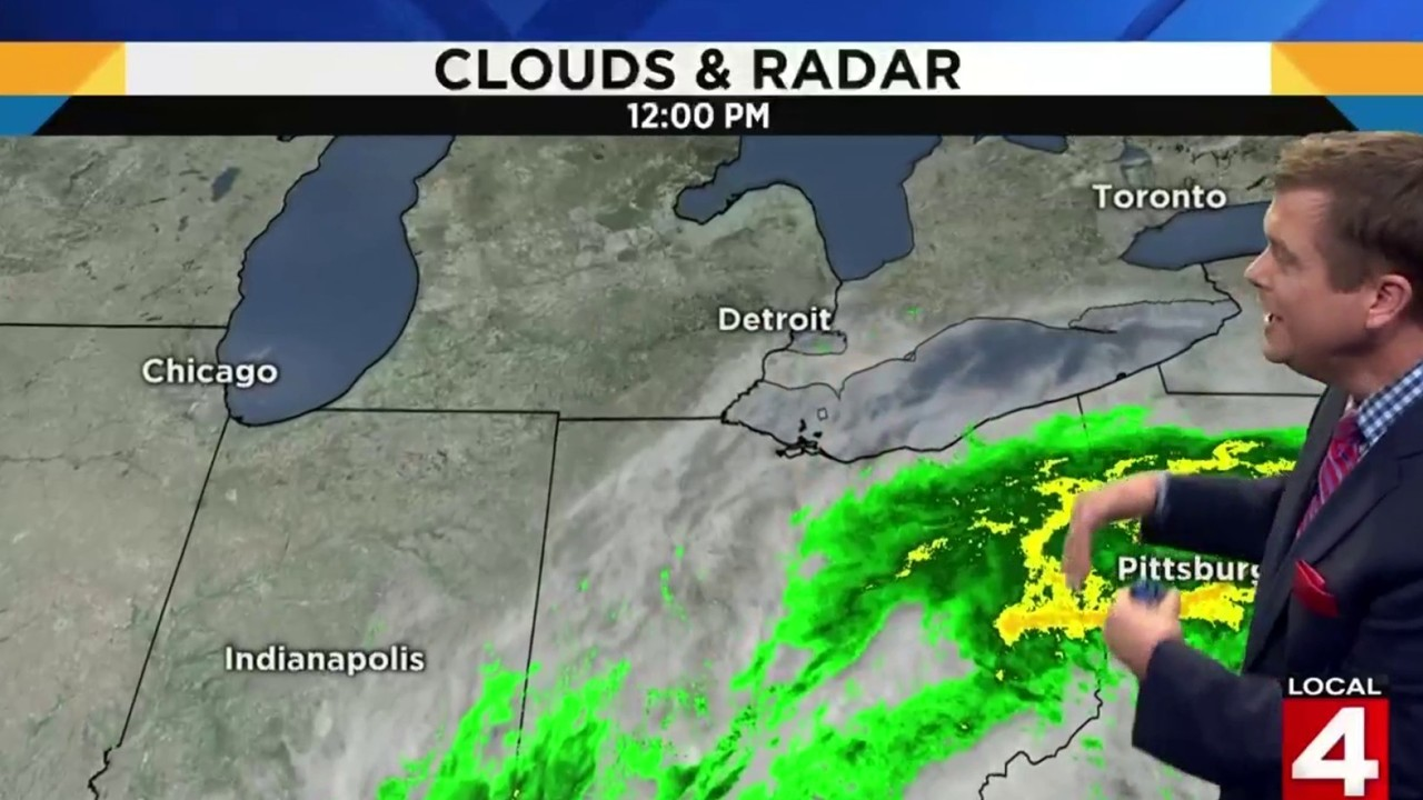 Metro Detroit Weather Forecast Isolated Showers Possible