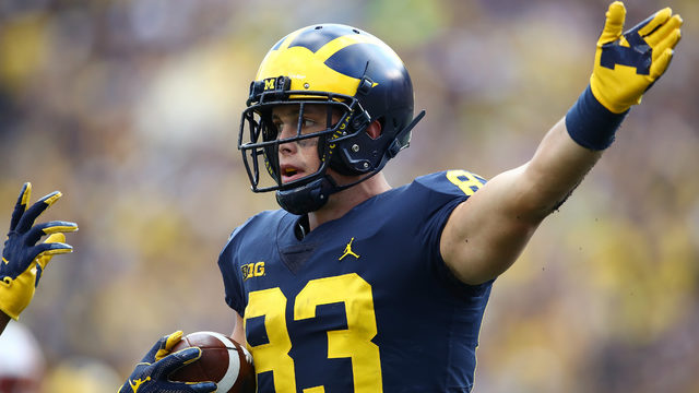 Michigan TE Zach Gentry selected by Pittsburgh Steelers in fifth round…