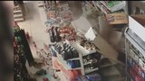 Driver crashes car into Detroit supermarket, abandons it