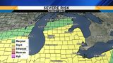 Metro Detroit weather: Monitoring a severe storm risk
